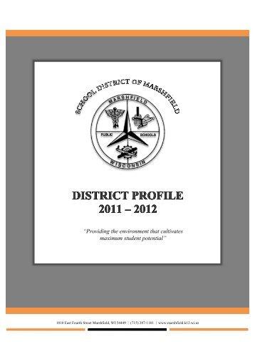 About Us - Marshfield School District
