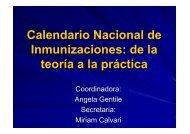 Calendario Nacional de Inmunizaciones - Sociedad Argentina de ...