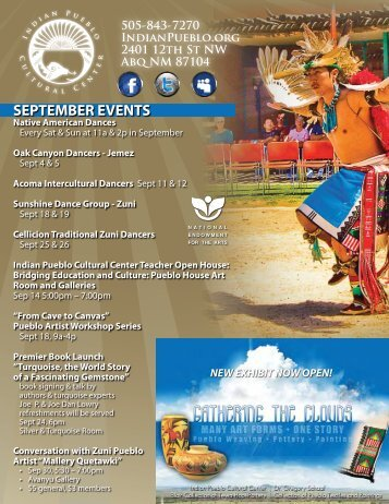 SEPTEMBER EVENTS - the Indian Pueblo Cultural Center