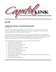 Capitol Link ~ June 2008 (pdf) - Professional Dairy Producers of ...