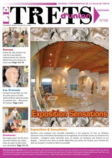 Exposition & Sensations - Mairie-de-trets.fr