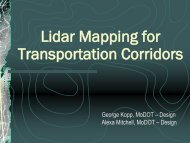 Mobile Mapping for Transportation Corridors.