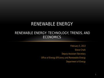 Renewable Energy 101 - Environmental and Energy Study Institute