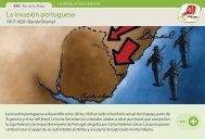 La invasión portuguesa - Manosanta