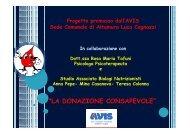 Progetto Avis nelle scuole superiori di Altamura 2 - Liceo Scientifico ...