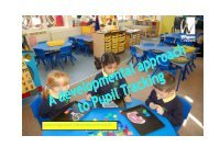 A developmental approach to pupil tracking - Wigan Schools Online