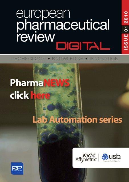 PharmaNEWS - European Pharmaceutical Review