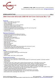"2003 Chevrolet Silverado 2500 HD 4x4 Crew Cab kurze Box ""LS"""