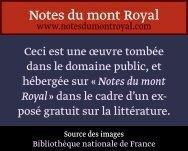 Ly-pê - Notes du mont Royal
