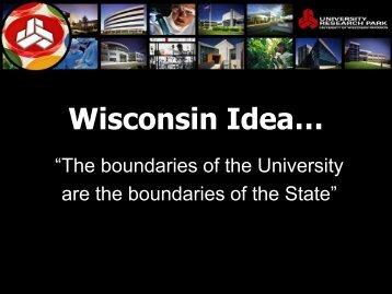 Research Park Director Mark Bugher - Wisconsin Alumni Association