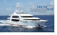 Trinity's newest launch Mi Sueño was named after ... - Trinity Yachts