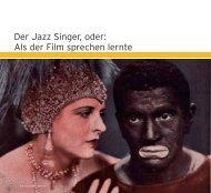 Der Jazz Singer, oder - Jüdisches Filmfestival Wien