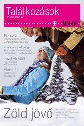 Találkozások magazin 2009. február - T-Mobile