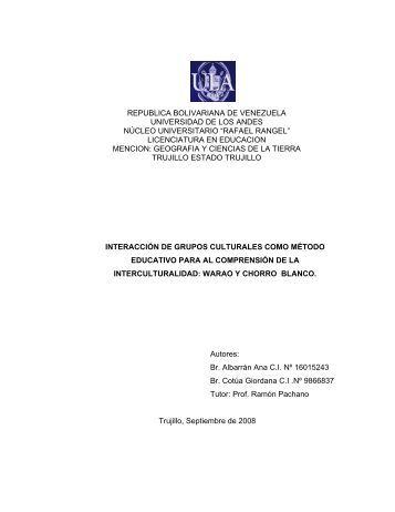 licenciatura en educacion - Tesis de Pregrado y Posgrado de las ...