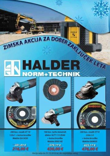 kotna brusilka 125 mm - Halder d.o.o.