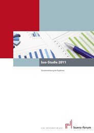 bso-Studie 2011 - im buero-forum des bso