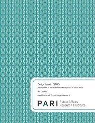 PARI S.E.2 design flaws in cipro may2011 web