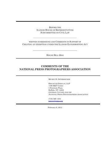 Comments - NPPA Blogs - National Press Photographers Association