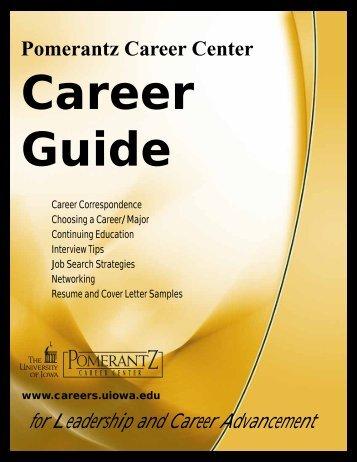 Pomerantz Career Center - University of Iowa