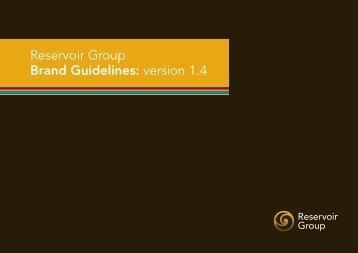 Reservoir Group Brand Guidelines: version 1.4