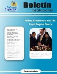 Boletin Diciembre - Tribunal Superior de Cuentas