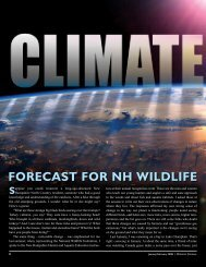 Climate Change - New Hampshire Fish and Game Department