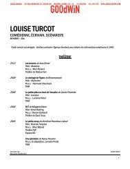 LOUISE TURCOT - Agence Goodwin