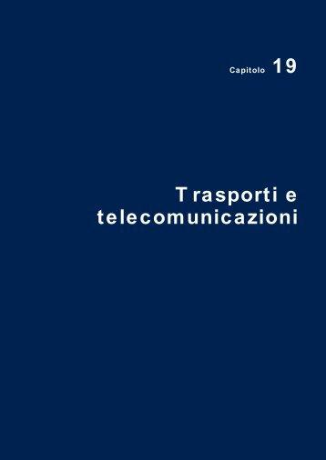 Trasporti e telecomunicazioni - Istat.it