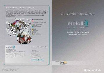 Flyer metall IT (PDF, 1,2 MB) - Bautec