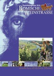 sinnliches Erlebnis Mosel - Tourist-Information Römische Weinstraße