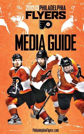 flyers media guide - Philadelphia Flyers