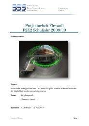 Projektarbeit: Firewall