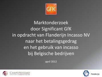Marktonderzoek Flanderijn - PressPage
