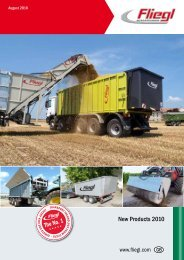 Fliegl - Innovation Products 2010 - Kakkis Agrifuture Products LTD