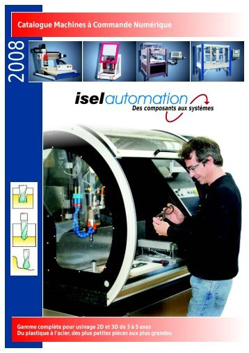 Catalogue 2008 machines.cdr - isel France