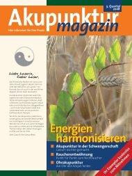Akupunktur 3. Quartal 2008