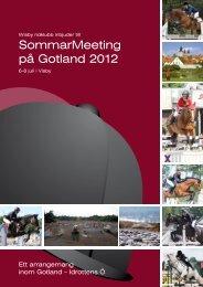 SommarMeeting på Gotland 2012 - Idrottens Ö