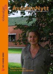 Åssiden Nytt nr.3-2011 - Den norske kirke i Drammen