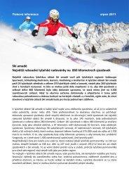 Ski amadé Největší rakouské lyžařské radovánky na 860 kilometrech