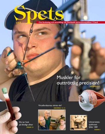 Muskler för outtröttlig precision! - Västerbottens läns landsting