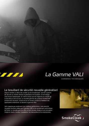 La Gamme VALI