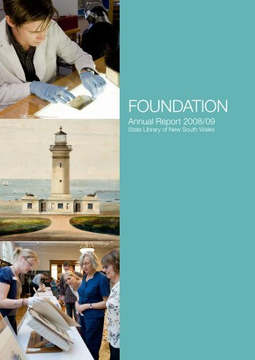 Foundation Annual Report 2008/09 - State Library of New South ...