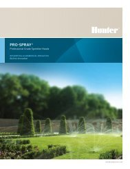 PRO-SPRAY® - Hunter Industries