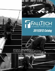 Falltech Fall Protection Products, from Best Materials