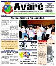 Avaré conquista a escola do SESI - Câmara Municipal da Estância ...