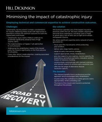 Minimising the impact of catastrophic injury.pdf - Airmic