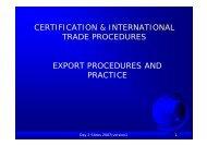 export procedures practice - day 2 - Eurochambres Academy