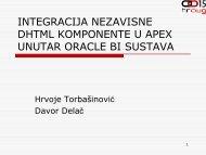 903_Torbasinovic Delac Integracija DHTML u APEX apl_u ... - HrOUG