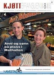Bladet Kjøttbransjen nr 08 2012 - Kjøtt- og fjørfebransjens ...
