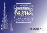 Weinblatt Weinpräsente Weihnachten 2014